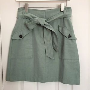 Ann Taylor Belted Skirt Size 2